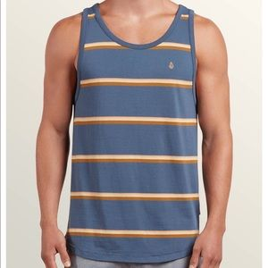 NWT Volcom The Sheldon Tank